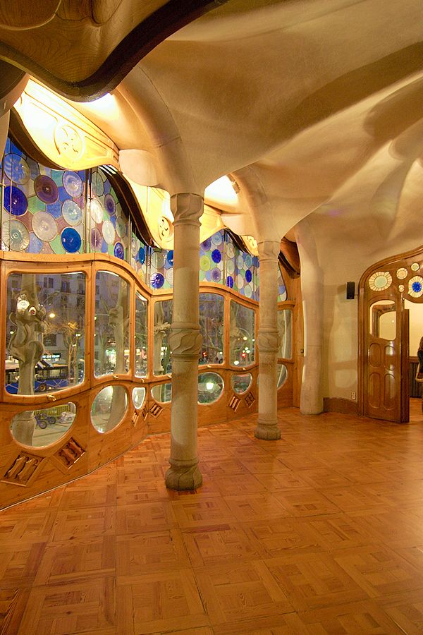 Casa Batllo Interior Barcelona | Sculptures and ...