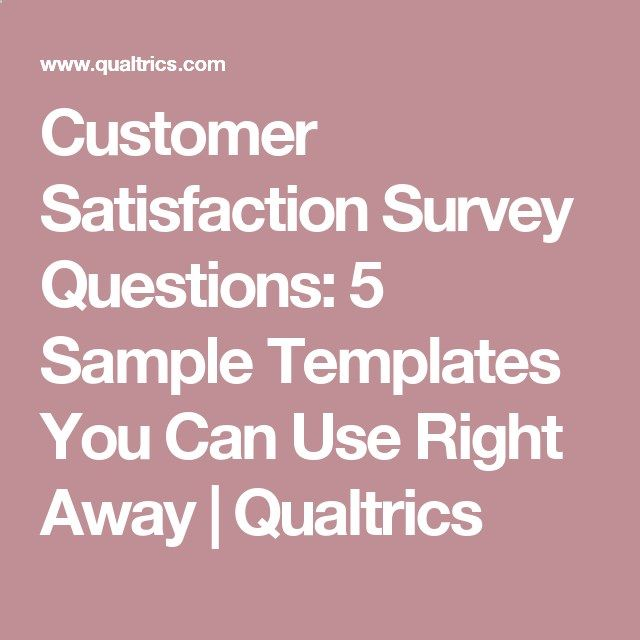 Customer Satisfaction Survey Questions 5 Sample Templates You Can - sample customer satisfaction survey