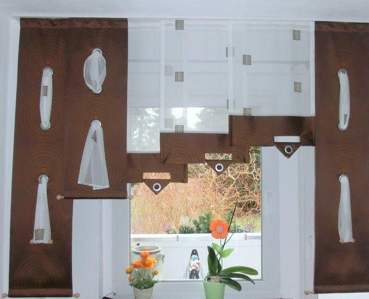 Moderne Vorhänge flächen moderne weiße gardinen vorhänge komplett