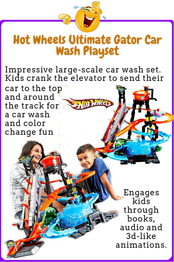 Hot Wheels Ultimate Gator Car Wash Playset Hot Wheels Car Wash