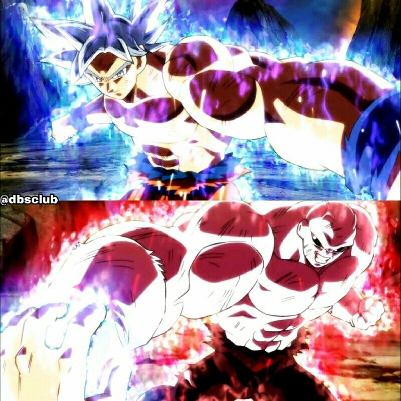 Goku Ultra Instinto Completo Vrs Jiren Maximo Poder