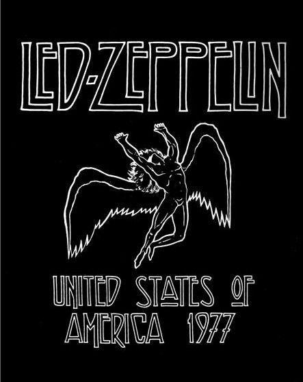 Pin by Kelsey on Wings in 2019 | Led zeppelin poster, Led zeppelin
