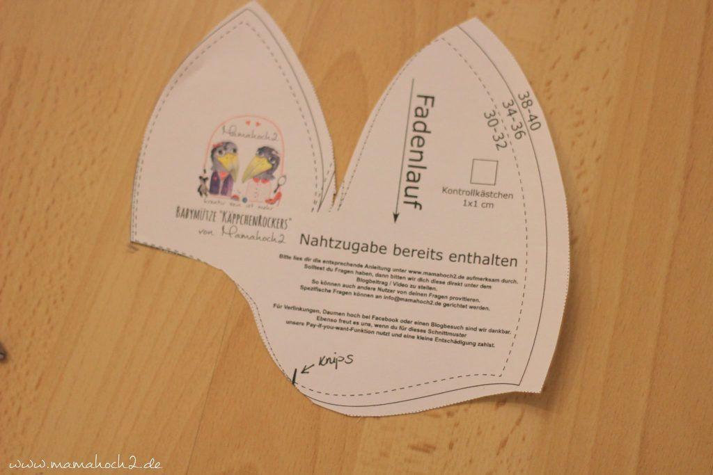 Photo of kostenlose Nähanleitung Babymütze zum Binden: Freebook Cap Rockers ⋆ Mamahoch2