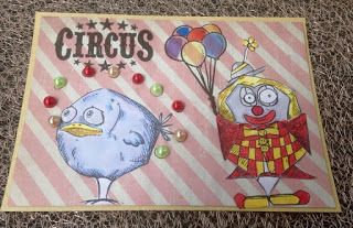 Stamps Fairy Tales: Zirkus This is a fun card, I love the clown.