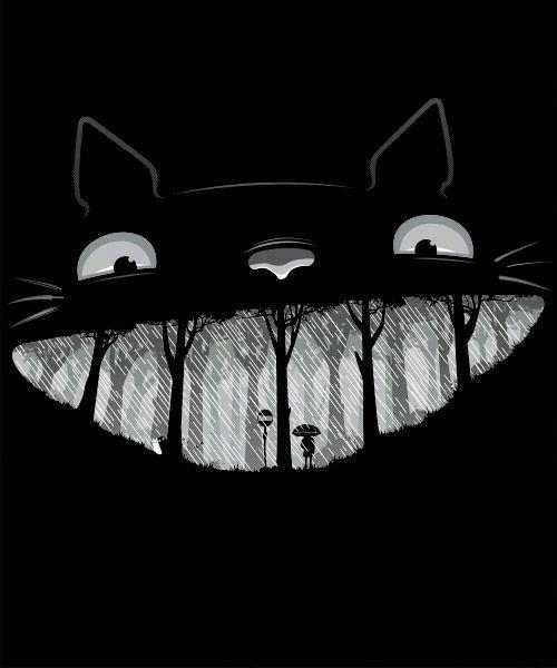 A escuridão de um gato pode ser bem fria