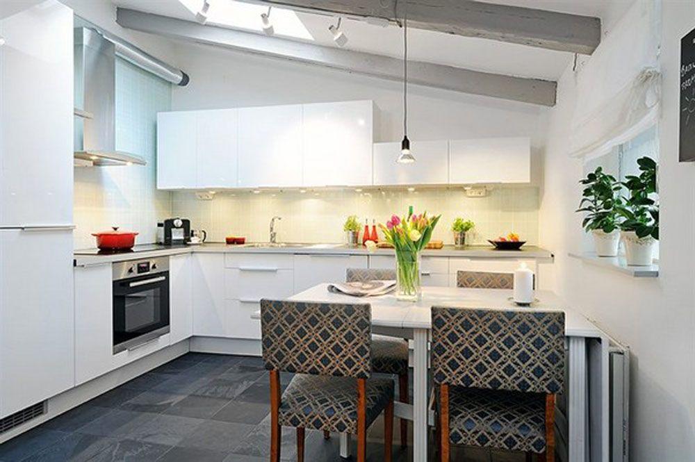 cozinhas escandinavas white kitchen design ideas - Interior Design