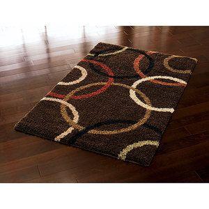 Brown Shag Area Rugs orian wedding band brown shag area rug | decor | pinterest