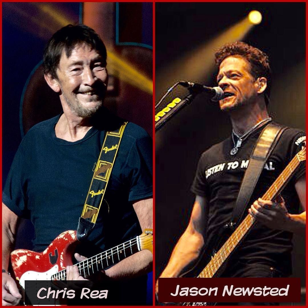Chris Rea and Jason Newsted.  Two rock stars who share the same birthday March 4th.  Happy birthday to both.    #chrisrea #musician #singersongwriter #poprock #softrock #bluesrock #fenderstratocaster #theroadtohellpt2 #drivinghomeforchristmas #foolifyouthinkitsover #britawards   #jasonnewsted #metalica #metalicablackalbum #heavymetal #thrashmetal #speedmetal #progessivemetal #hardrock #stonerrock #punkrock #songwriter #kirkhammett #larsulrich #roberttrujillo #andjusticeforall #masterofpupets…