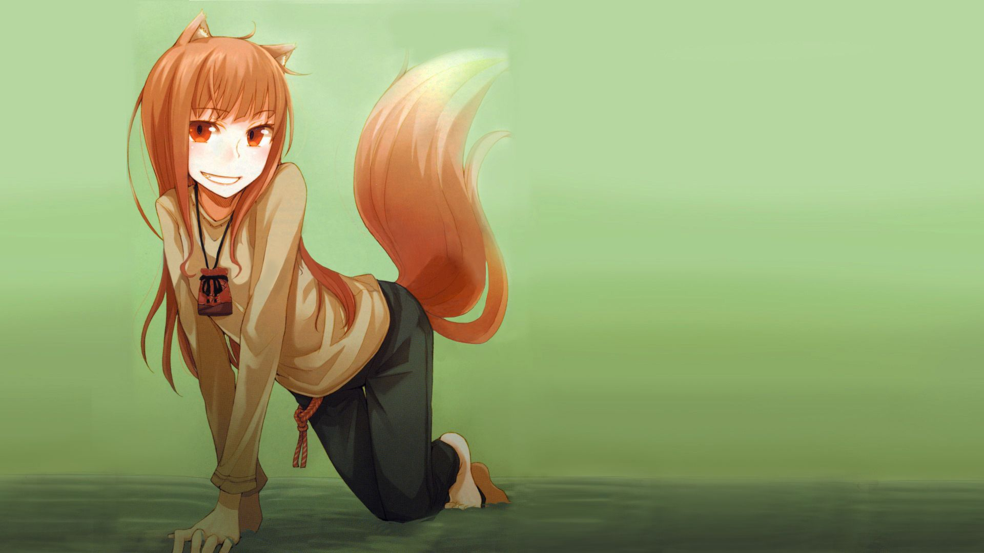 Spice Wolf Holo The Wise Wolf Spice And Wolf Wolf Wallpaper