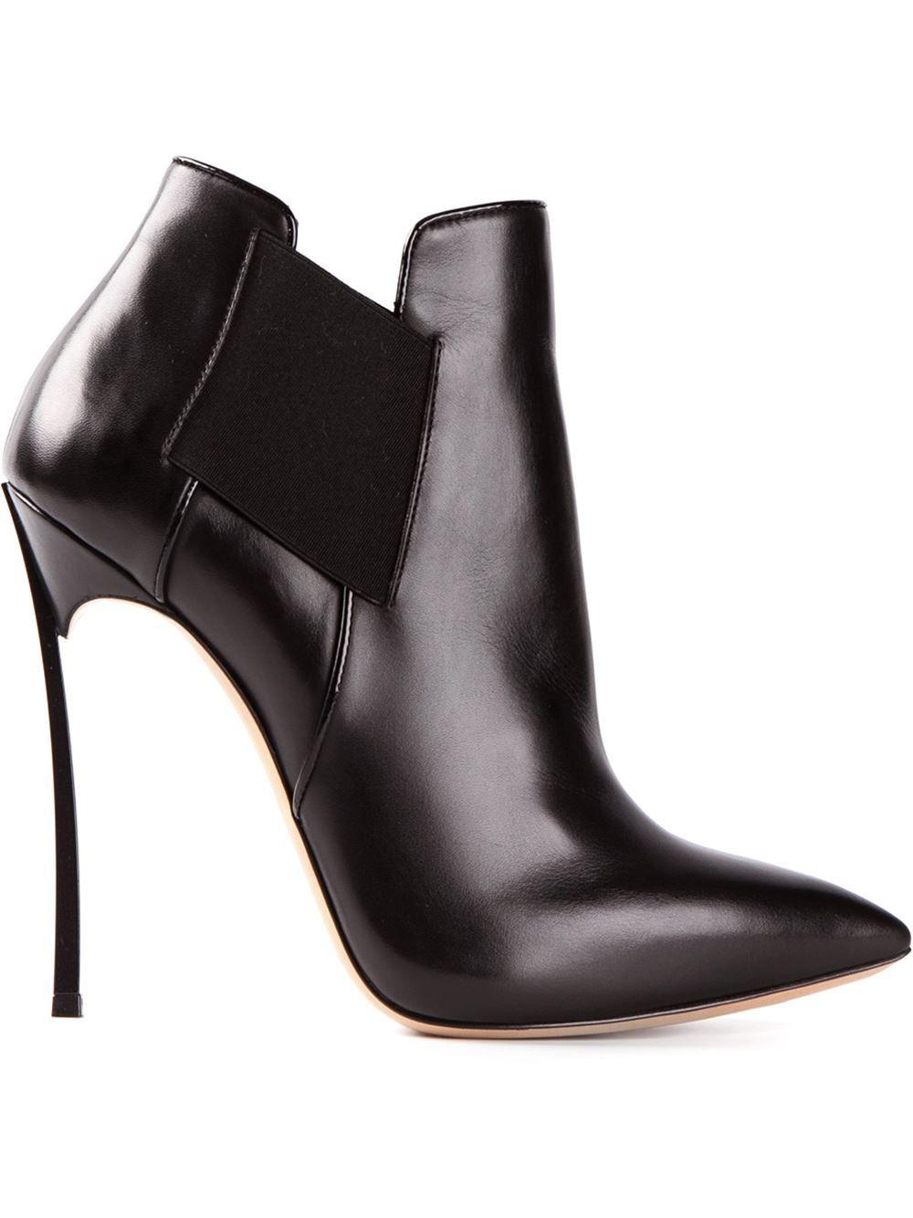 3e5eeadd2d875e Casadei Thinned Heel Ankle Boots - Biondini Paris - Farfetch.com ...