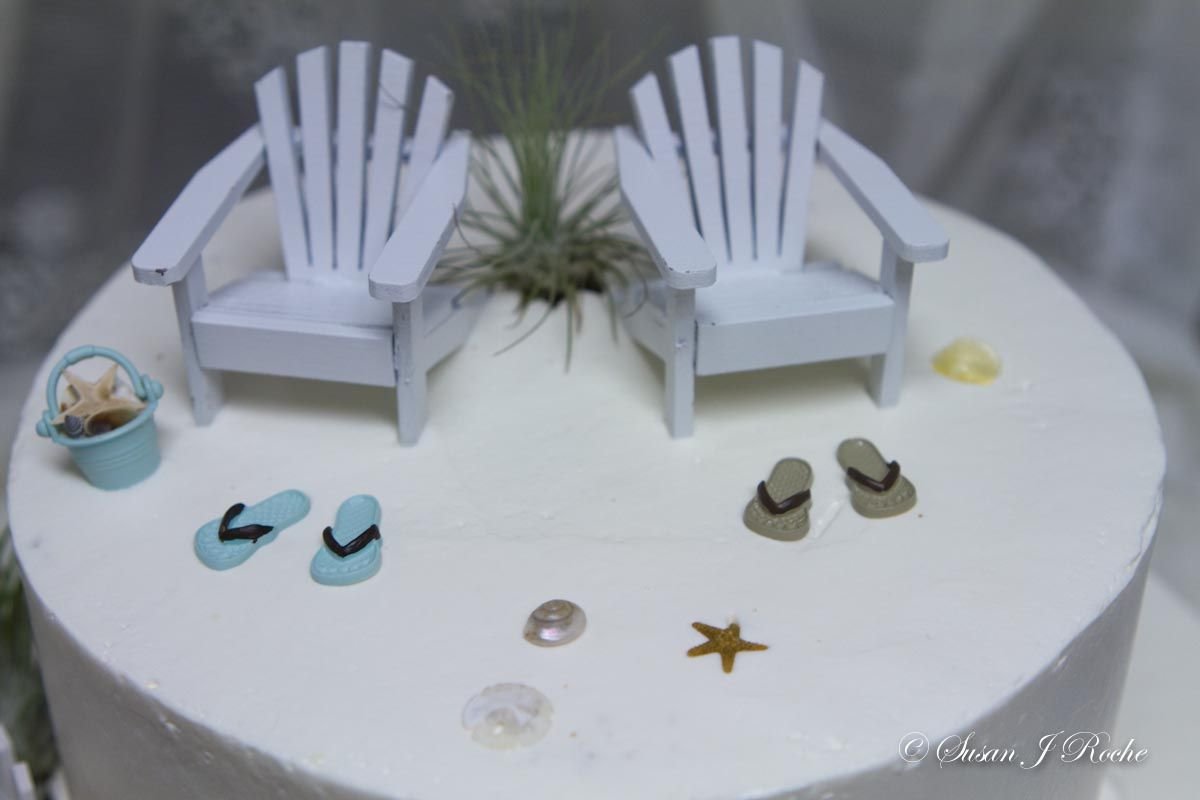 Beach Wedding 5 Closeup- Mueller\'s Bakery | Beach Theme Wedding ...