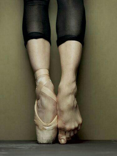 Ballerina Füße