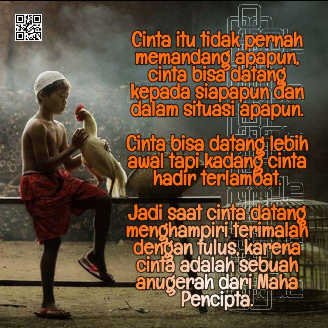 Cinta Adalah Anugrah Cinta adalah, Katakata motivasi, Cinta