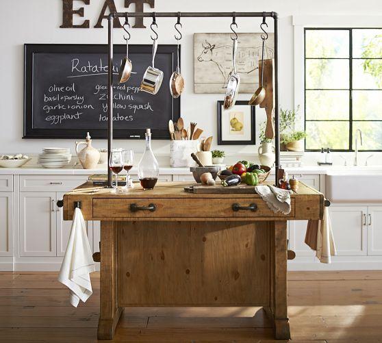 Chianti Kitchen Island Pottery Barn Home Sweet Home Pinterest