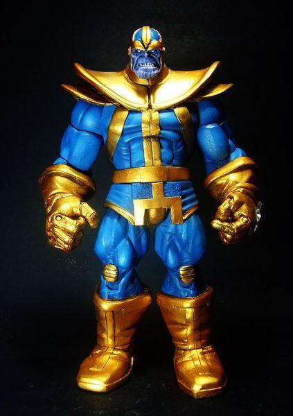Thanos Marvel Legends Custom Action Figure Custom