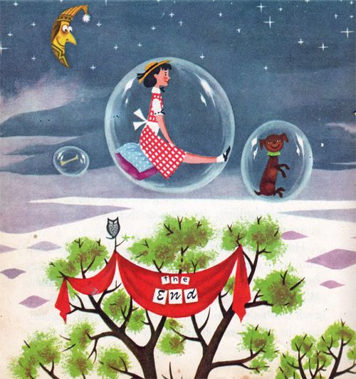My Vintage Avenue !!! 50's and 60's illustrations !!!: The Road to Oz, illustrated by Harry McNaught, 1951.