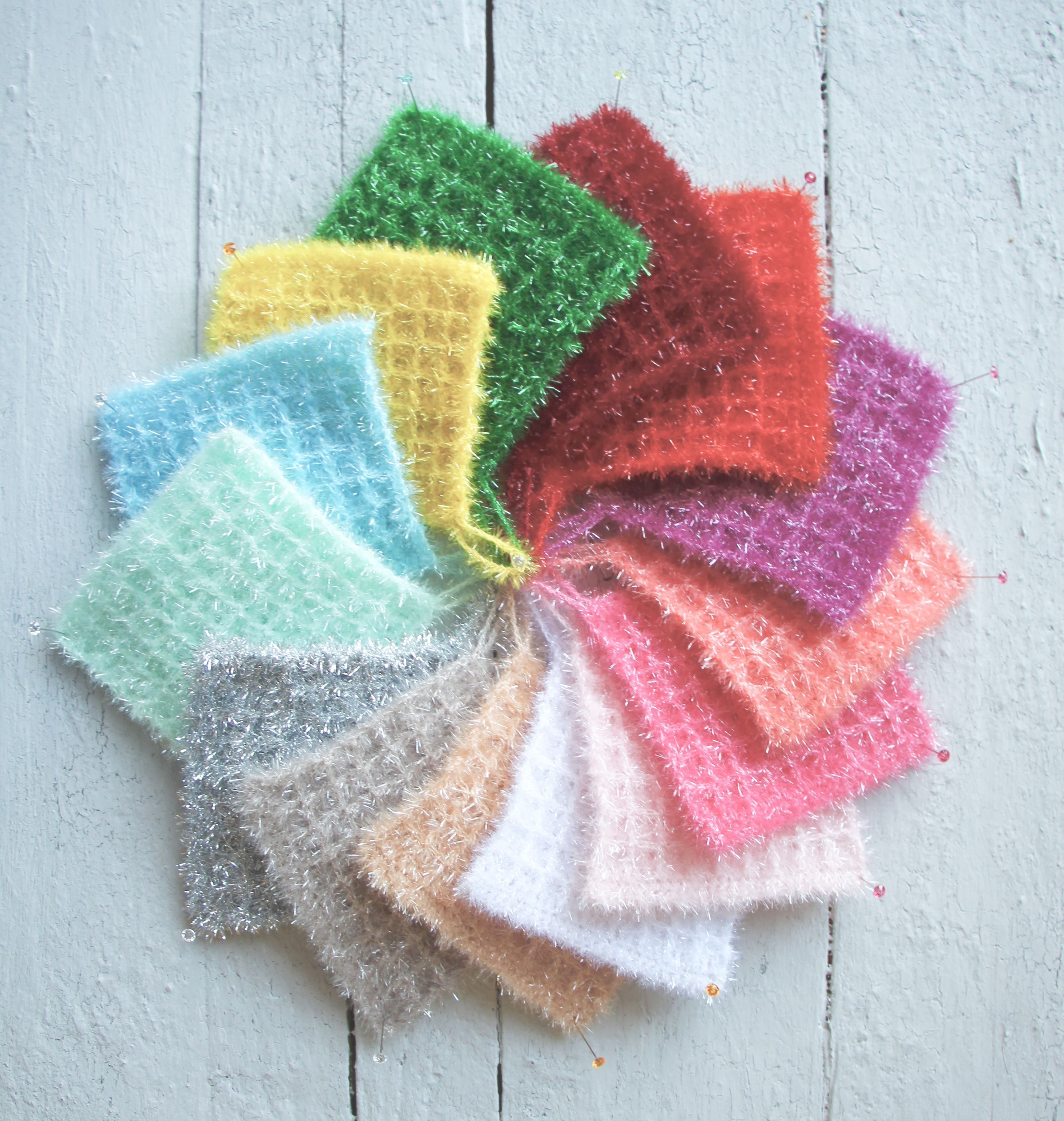 Photo of Bubbles waffle cloths / sponges inspired by a visit to Amsterdam