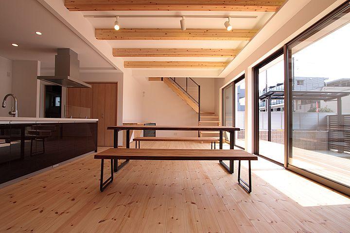 パイン 床材 の画像検索結果 ハウスデザイン 床 フローリング