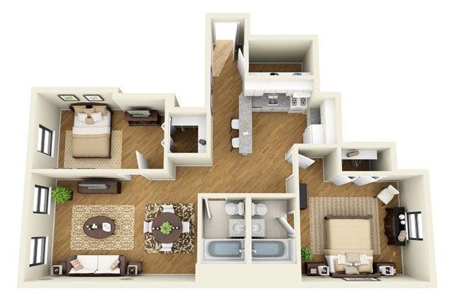 14 West Elm Apartments, $1995, 950 sq ft, model 4   Apts ...