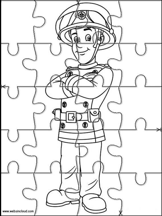 aktivitäten für kinder puzzlespiele feuerwehrmann sam 29