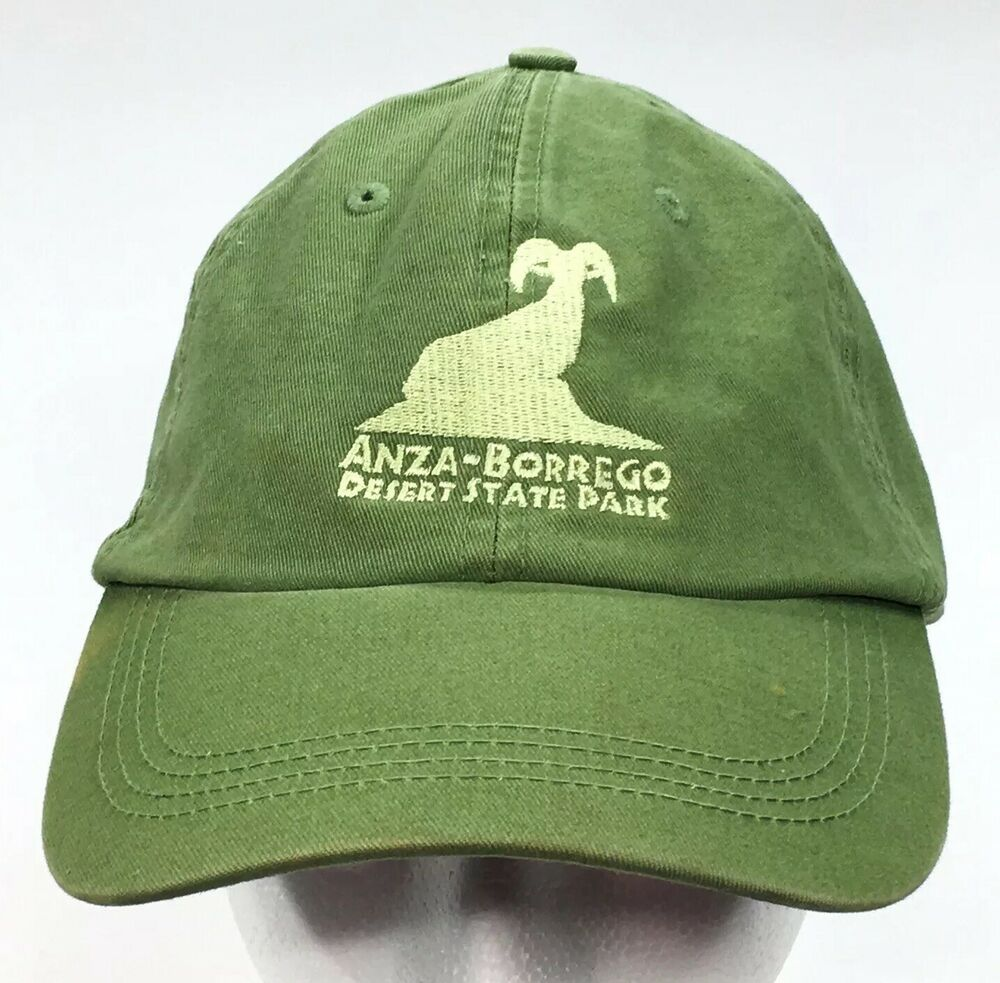 ANZA-BORREGO Desert State Park San Diego One-Size Strapback Adjustable Hat  Cap   7d04fb69f473