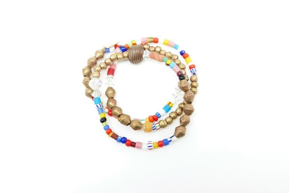 Tradebead Bracelet Stack – small/medium