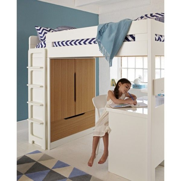 specialists in high quality children u0027s high sleeper beds  built to last wooden high sleepers with futon desk  u0026 day bed options  farringdon high sleeper with desk   teen bedroom   pinterest      rh   pinterest