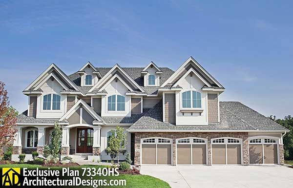 Plan 73340HS: Dad's Dream Home Plan