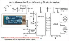 Simple Android Bluetooth Remote Control Project for Robot/Robo Car using…
