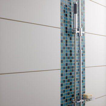 Faïence mur blanc brillant, Rubix l30 x L60 cm Leroy Merlin - Leroy Merlin Faience Cuisine