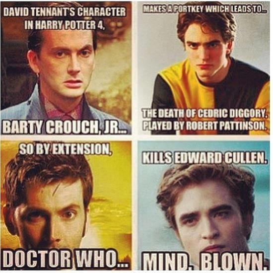 Doctor Who Kills Edward Cullen