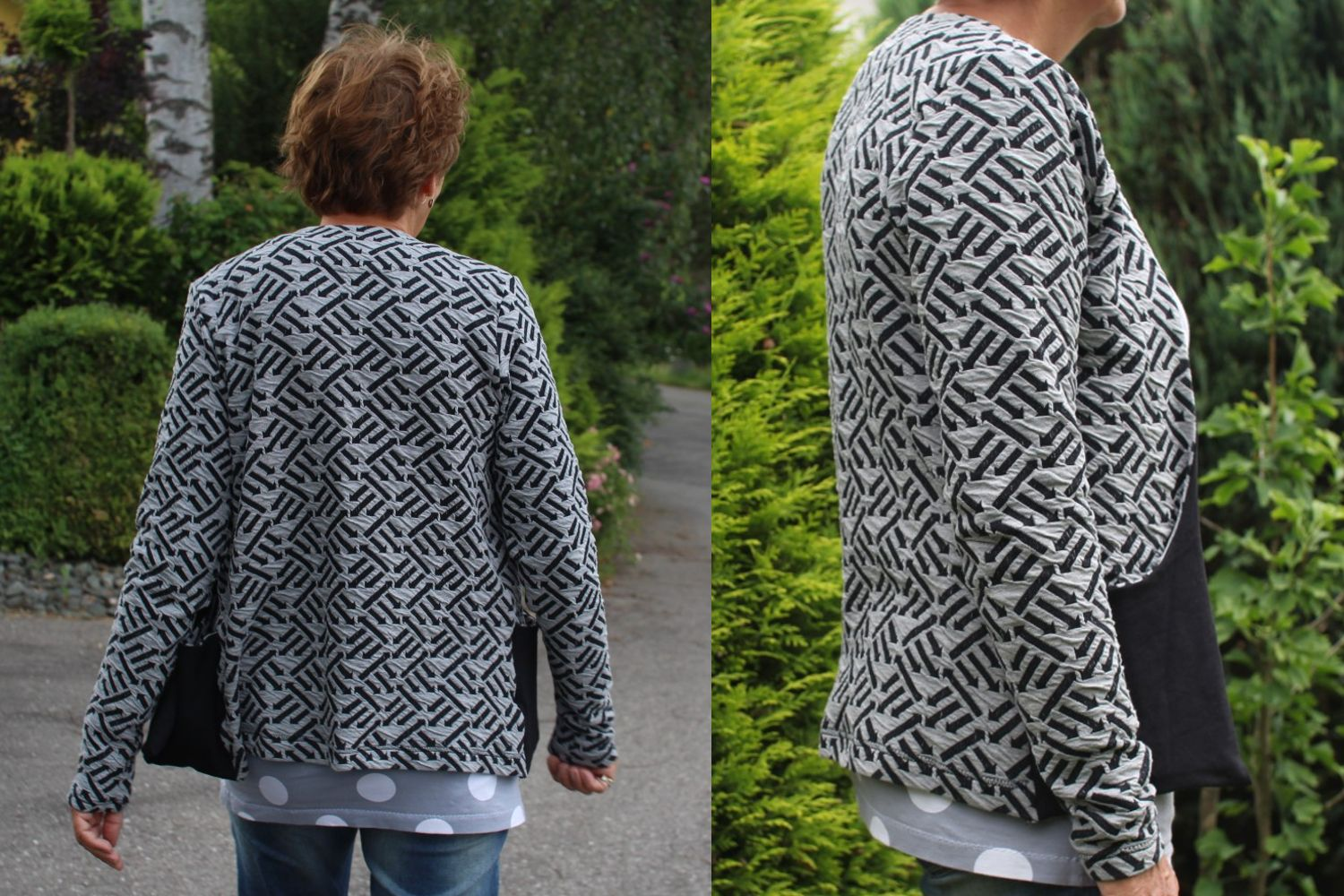 Susanne Cardigan :: Jacquard-Jersey :: Right Direction | Right ...