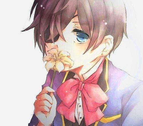Ciel ^-^ he looks so innocent | favourite anima | Black butler ciel