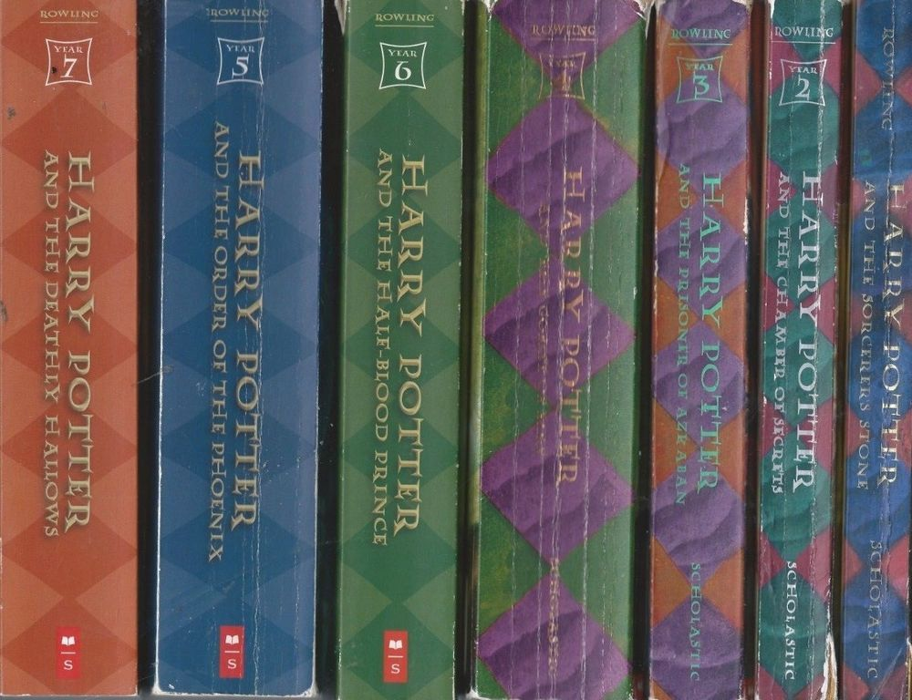 Details About Lot Of 9 1 7 Plus Harry Potter Complete Series Set