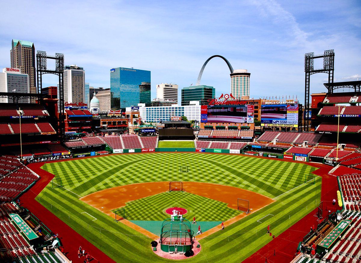 Nothing Better Mlb Stadiums Baseball Stadium Cardinals