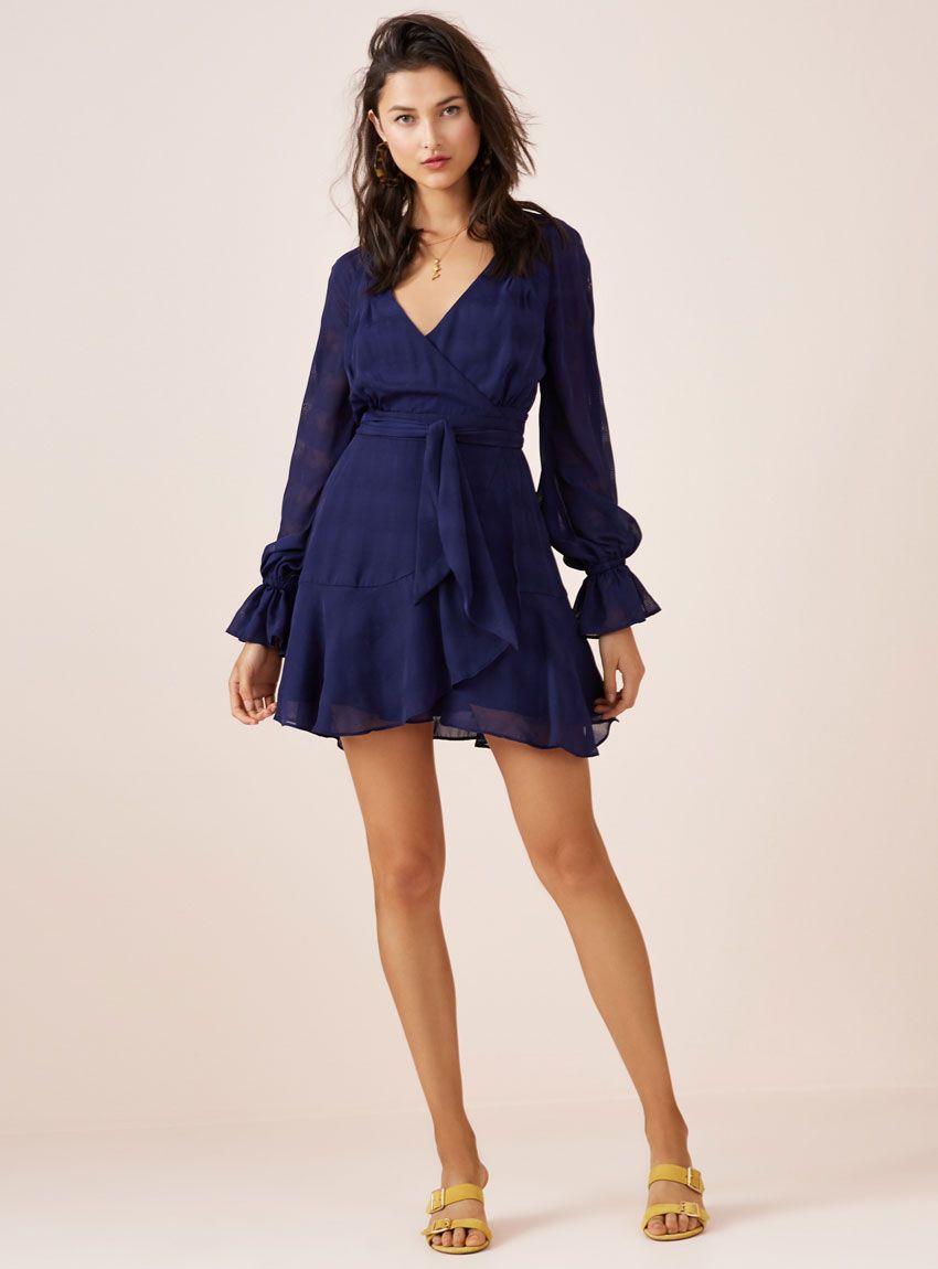 3282eaac9d16e Finders Keepers Rio Mini Dress – Navy Dress Hire, Dresses Australia, Finders  Keepers,