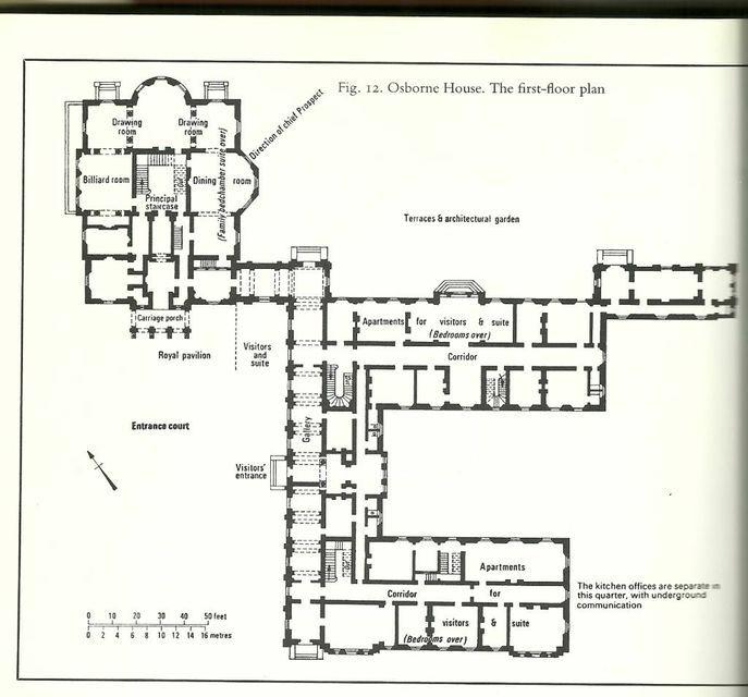 Floor Plan Of Osborne House