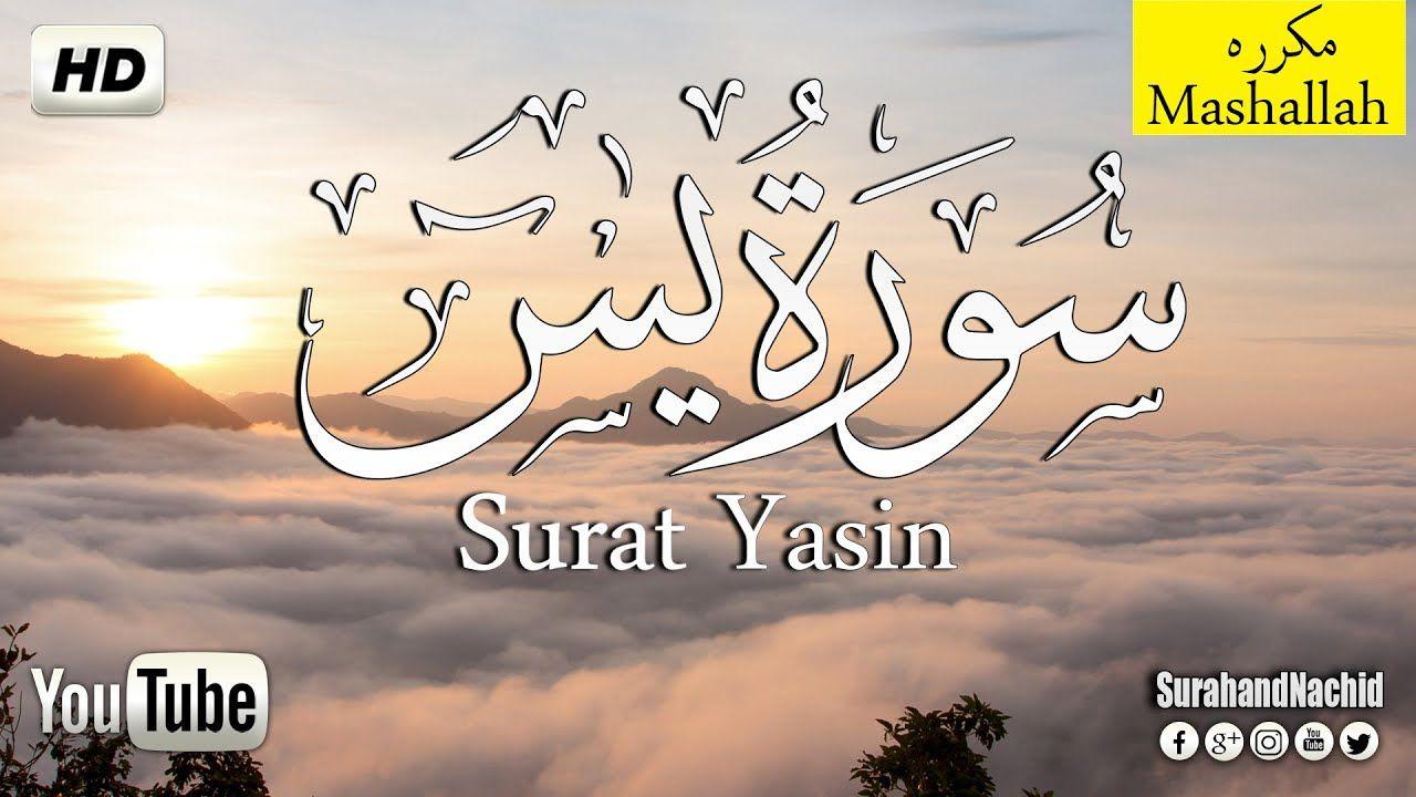 سورة يس مكتوبة تلاوه هادئه تريح القلب والعقل سبحان من رزقه هذا الصوت Arabic Calligraphy Quran Beautiful