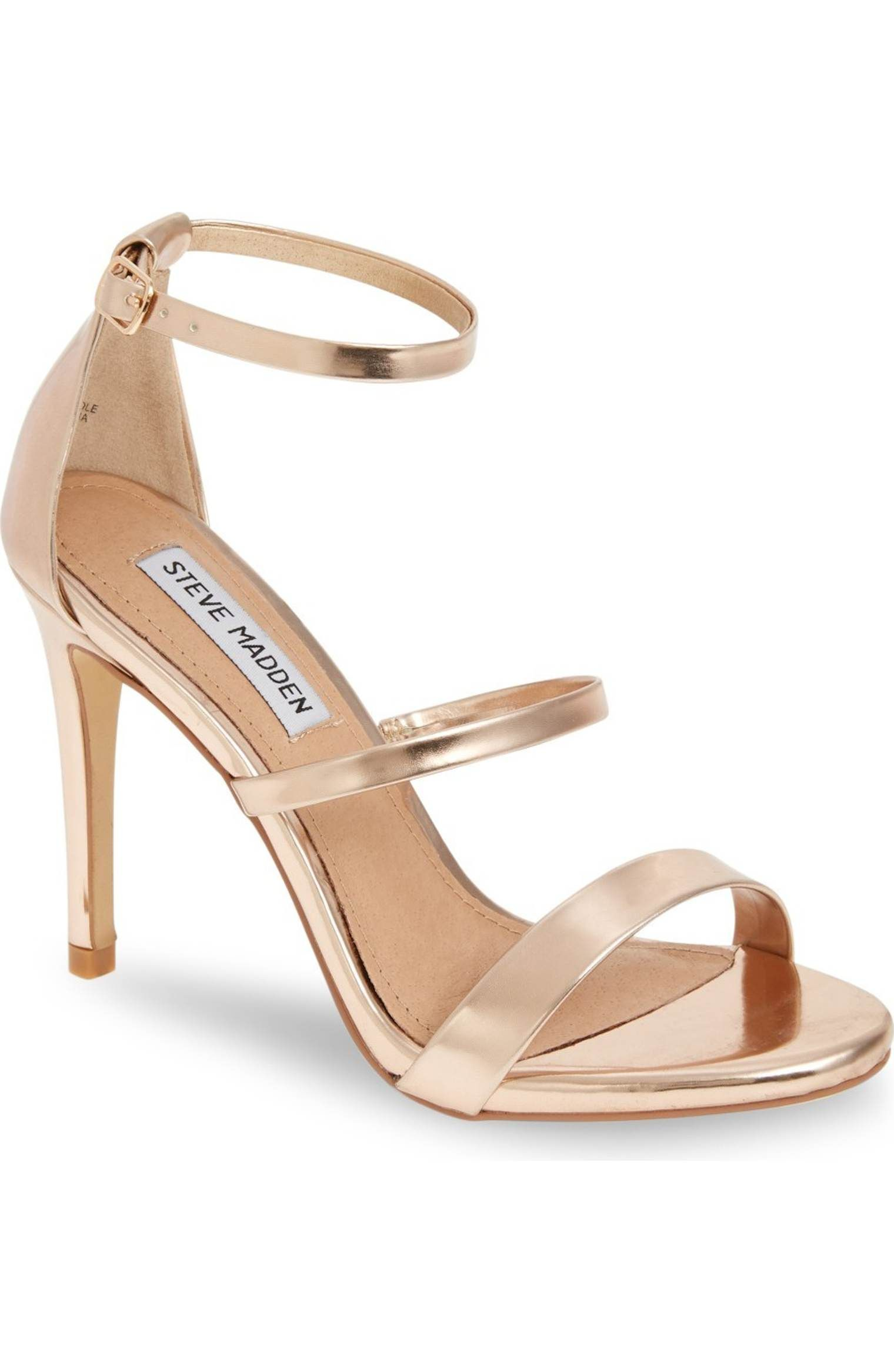 0781ee663a4 Main Image - Steve Madden Sheena Strappy Sandal (Women)