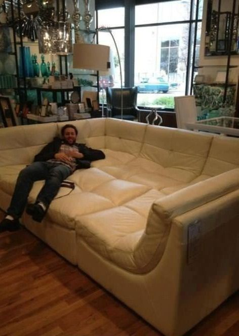 think of all the sex you could be having with this couch  and by sex i mean lying down alone on it while you watch episodes of your favorite tv shows on netflix