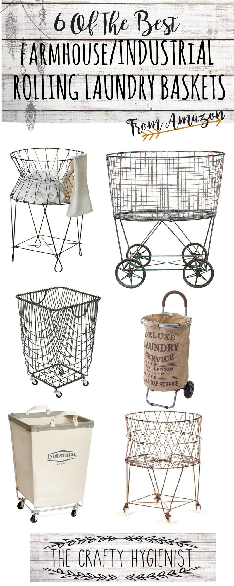 6 Of The Best Farmhouse Laundry Baskets In 2020 Farmhouse
