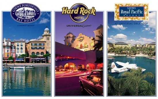 Universal Orlando Features Three Beautiful On Site Hotels Royal Pacific Resort Hard Rock
