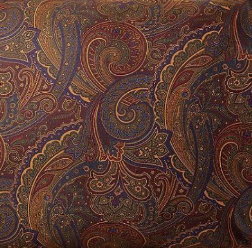 Ralph Lauren Frazier Tracery King Duvet Cover Euro Sham Set 4pc Paisley Cotton In Home