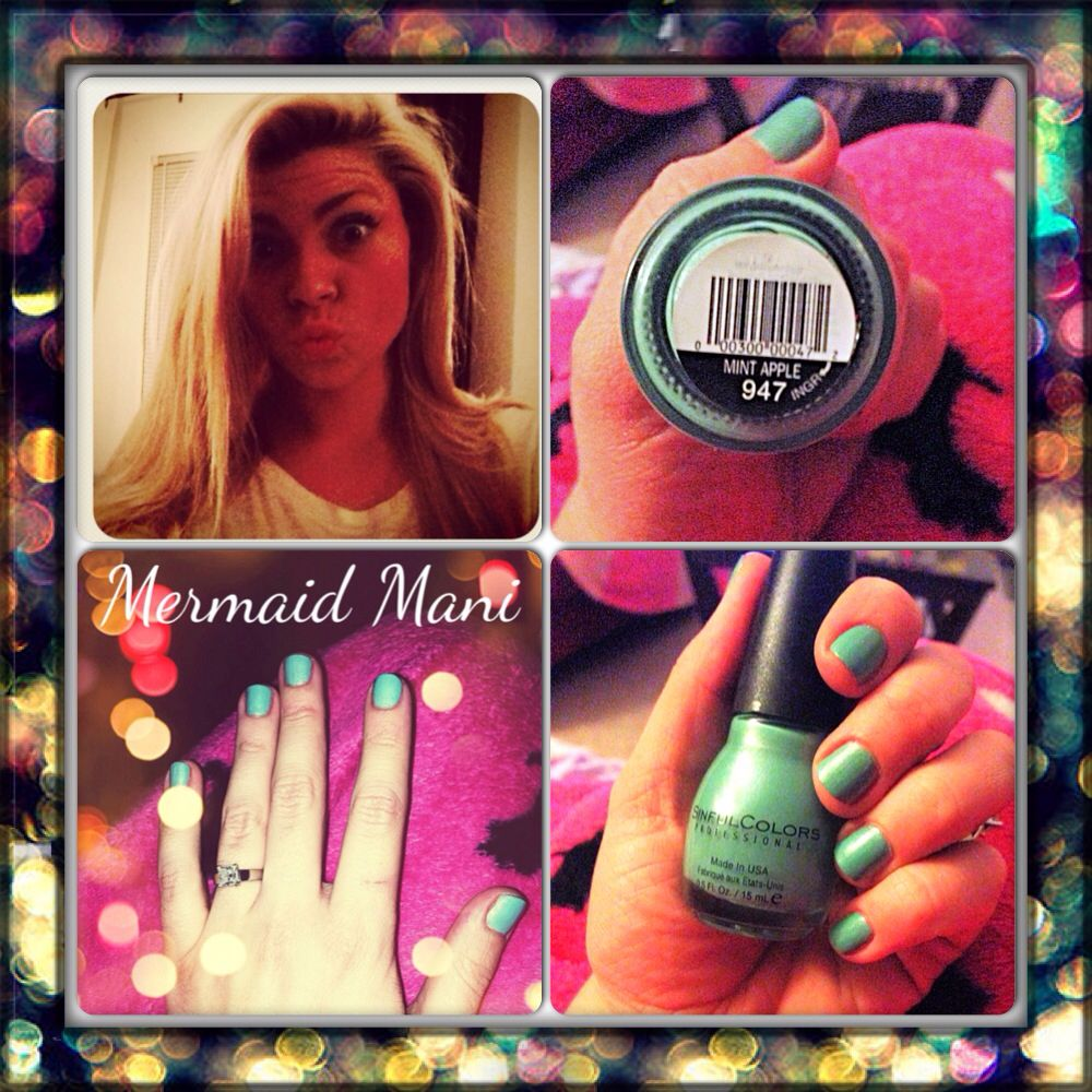 Love!! Perfect color for Mermaid Nails!! $1.98 at ...