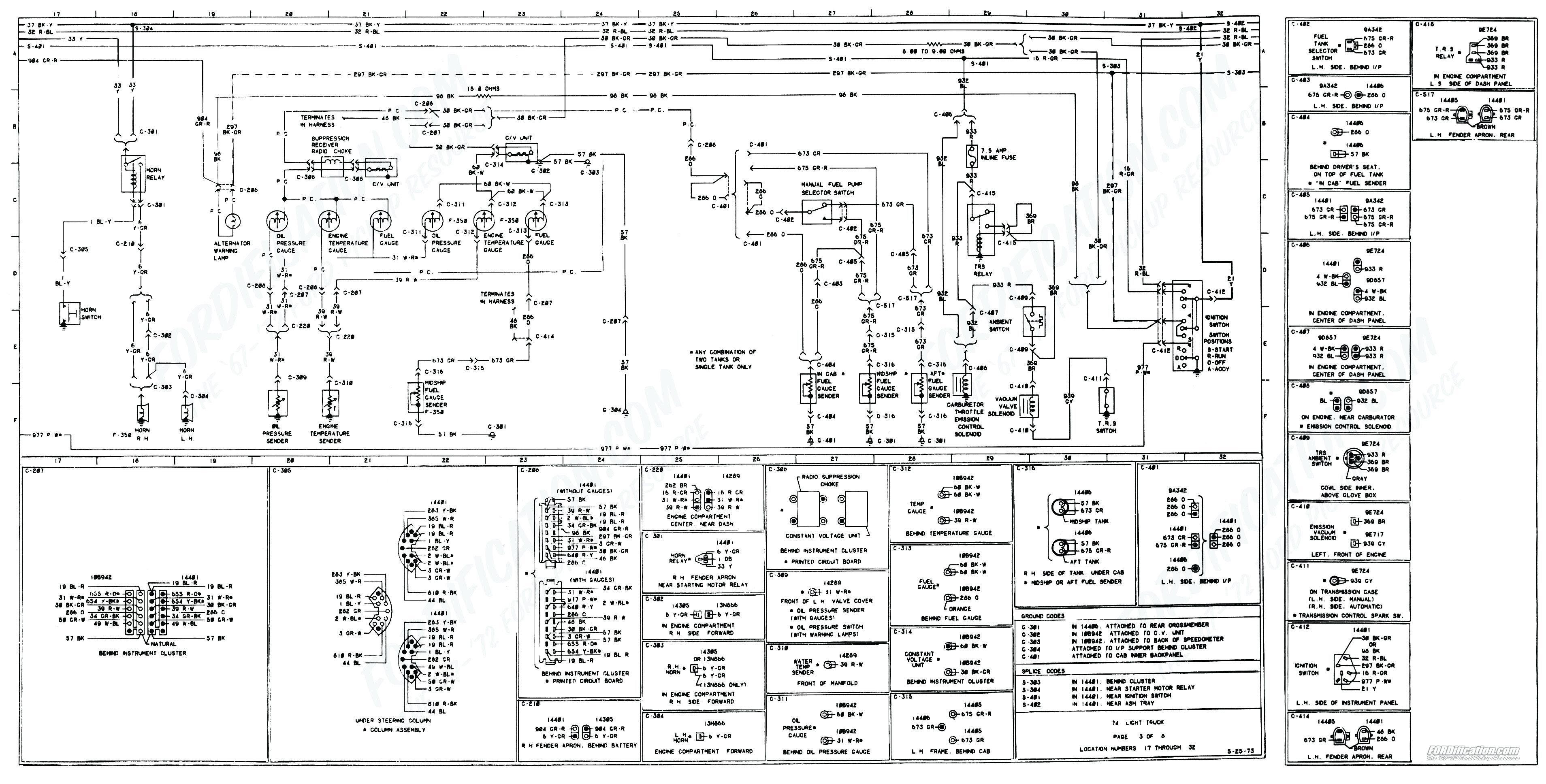 1979 Ford F250 Wiring Diagram