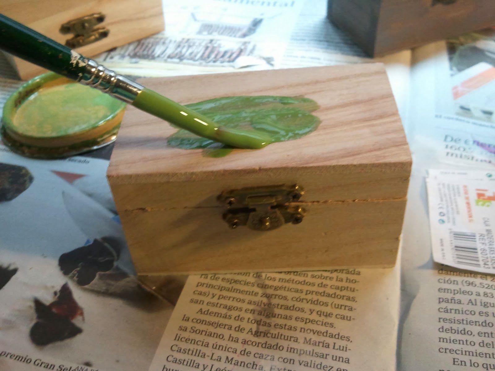 Como pintar cajitas de madera buscar con google cajas - Como pintar madera ...