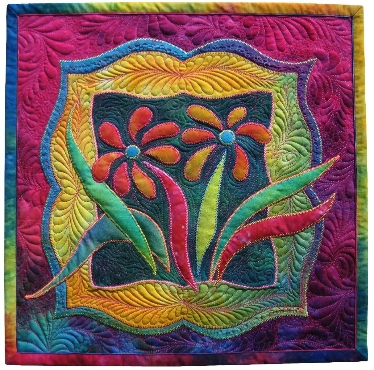 Ricky Tims Alzheimers Quilt Forget Me Not Flower Quilts Art Quilts Quilts