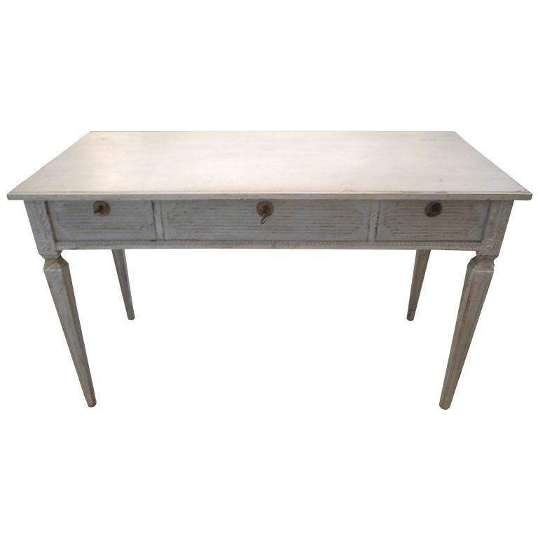 antique swedish painted gustavian desk 19th century inspiration rh pinterest com Bedroom Desk Ideas IKEA Desks for Sale
