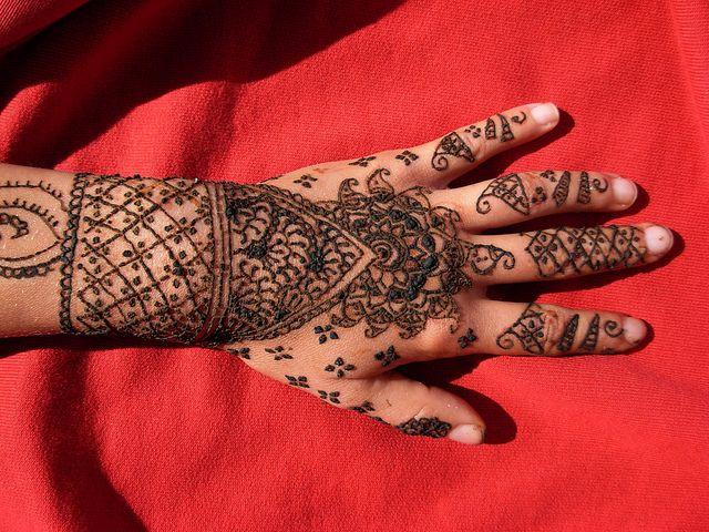 for Henna para manos