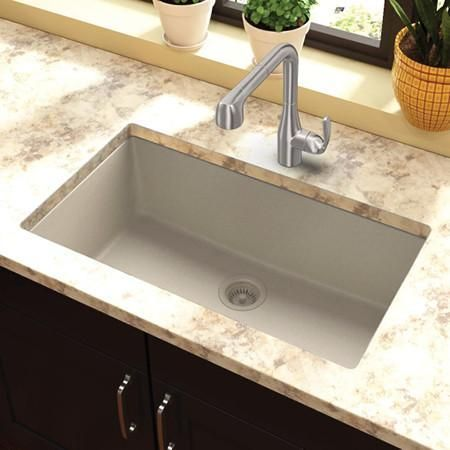 Elkay Undermount Sink, Quartz Classic, 33\